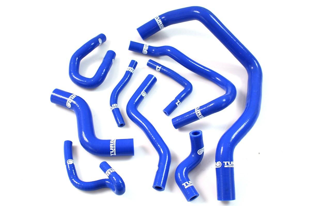 Przewody Silikonowe Honda Civic D15 D16 VTI 92-00 TurboWorks Woda - GRUBYGARAGE - Sklep Tuningowy